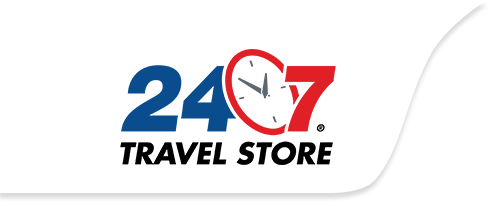 24/7 Travel Store Logo